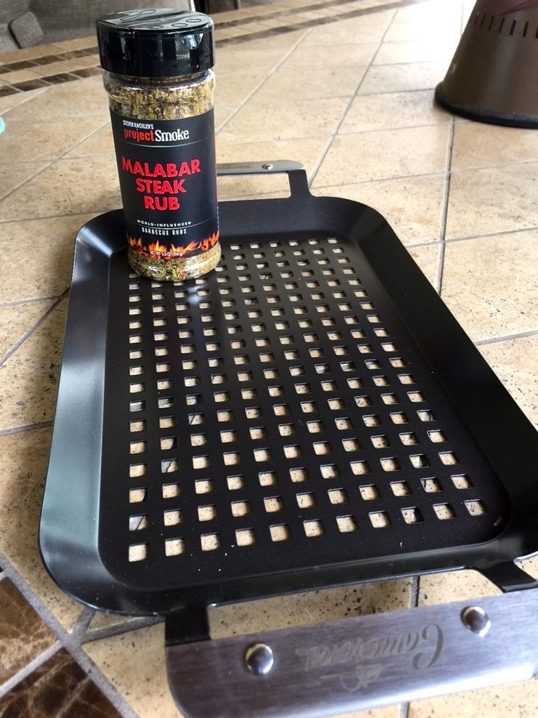 Cameron's BBQ Grilling Pans and Steven Raichlen's Project Smoke Barbeque Rubs