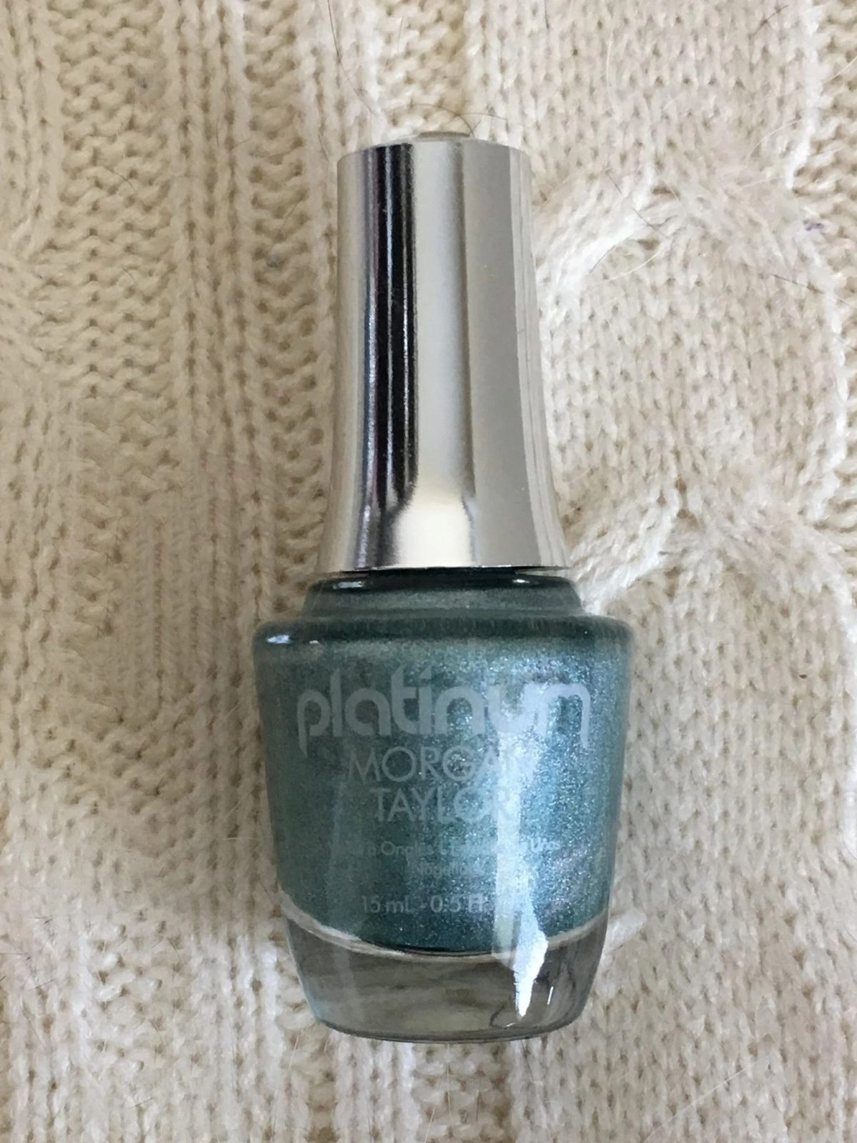 Morgan Taylor Disco Days Platinum Polish