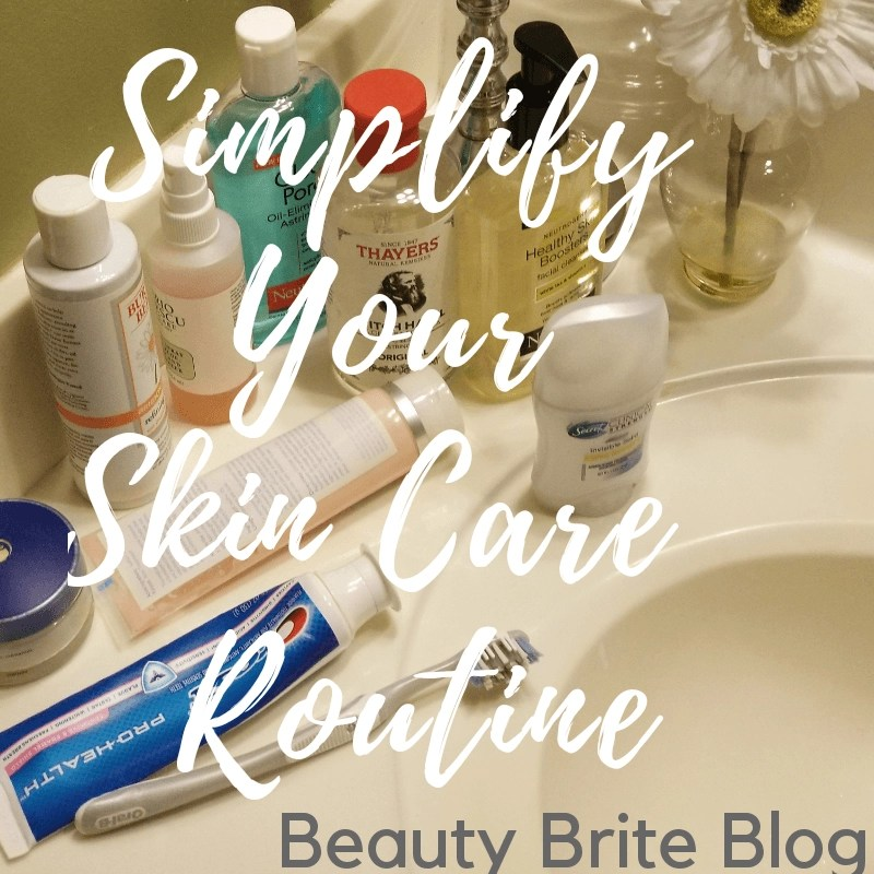 Simple Skin Care Routine 3