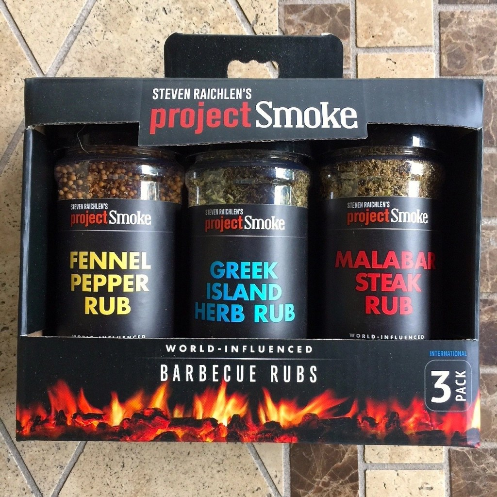 Steven Raichlen's Project Smoke Barbeque Rubs