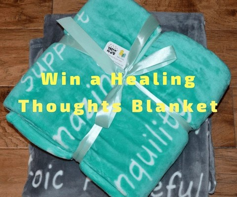 Healing Thoughts Blanket Giveaway
