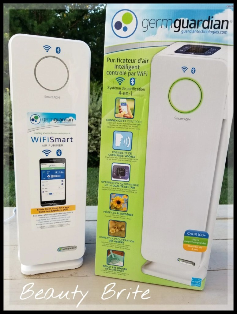 Germ Guardian 4 in 1 Smart WiFi Air Purifier
