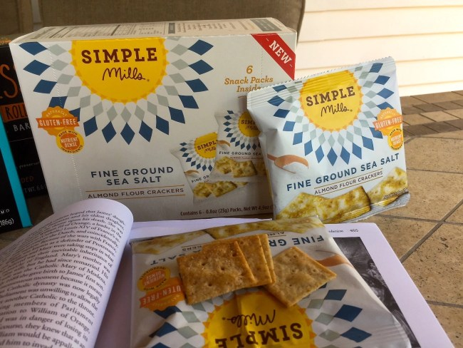 Simple Mills Fine Ground Sea Salt Almond Flour Crackers