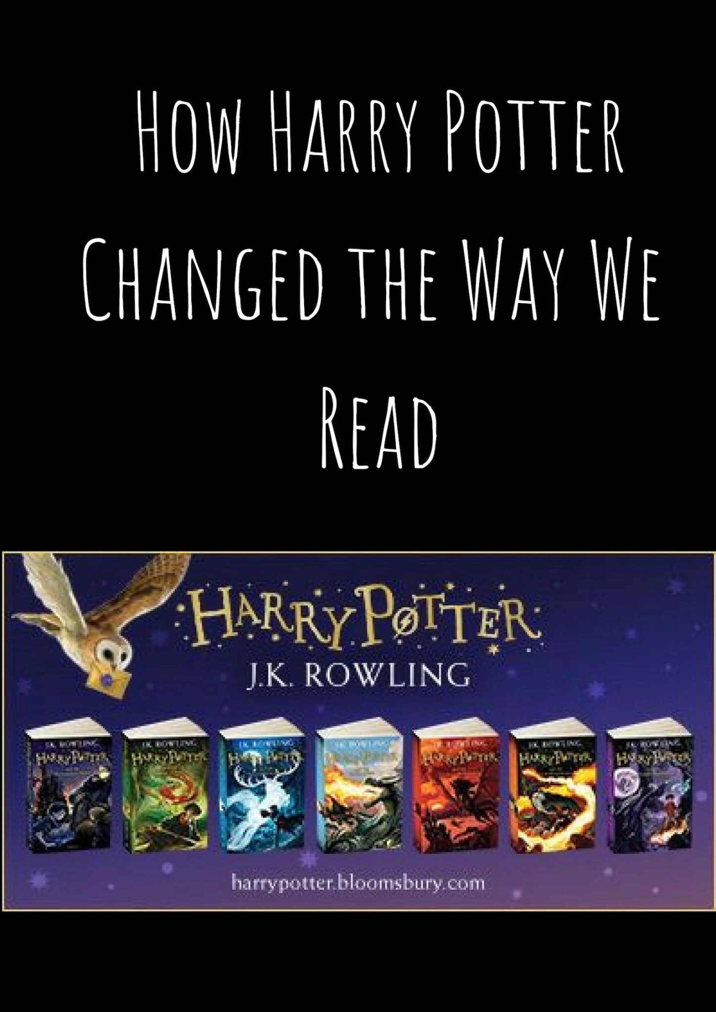 How Harry Potter Changed the Way We Read