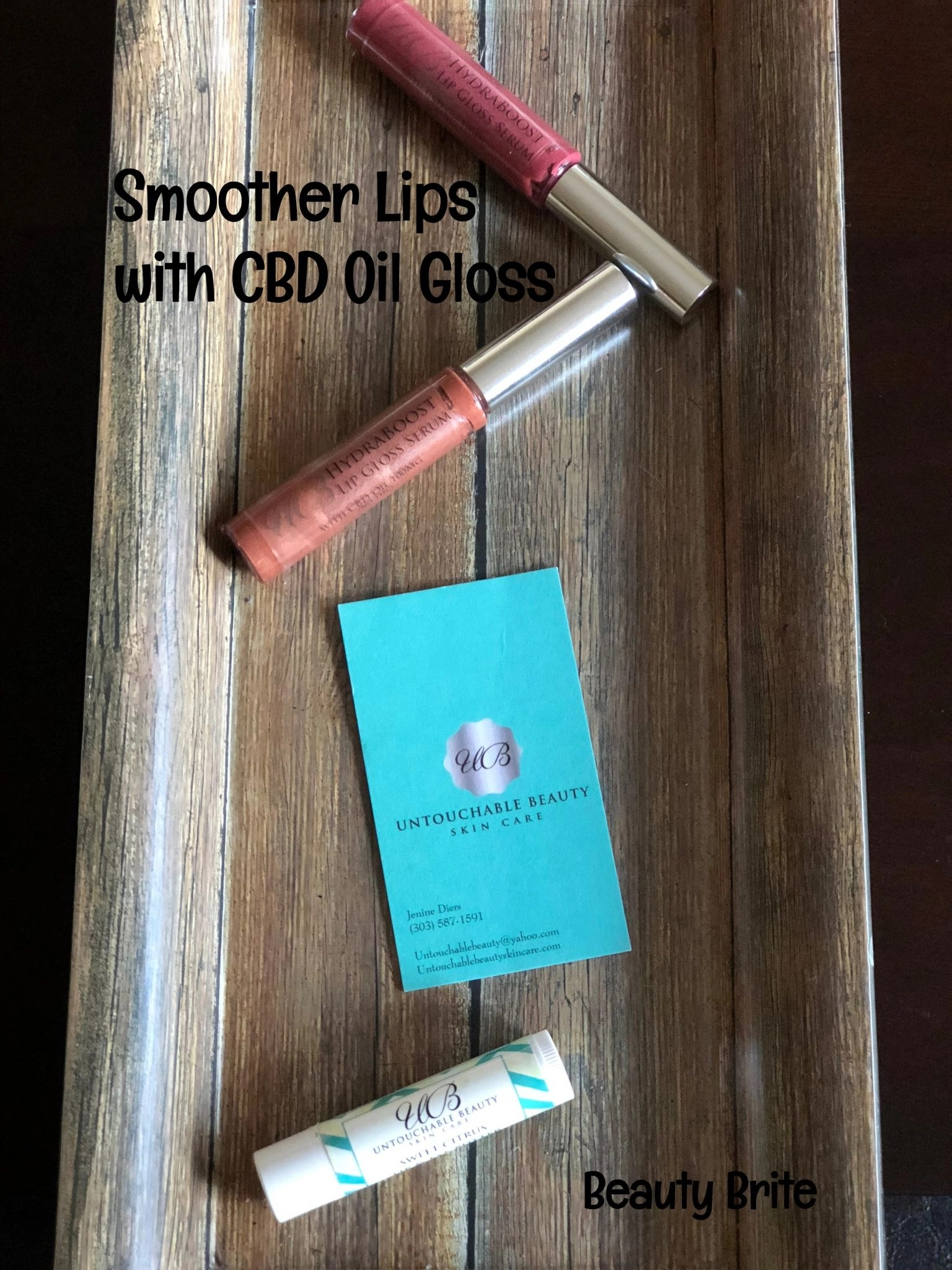 Smoother Lips with CBD Oil Gloss | Beauty Brite
