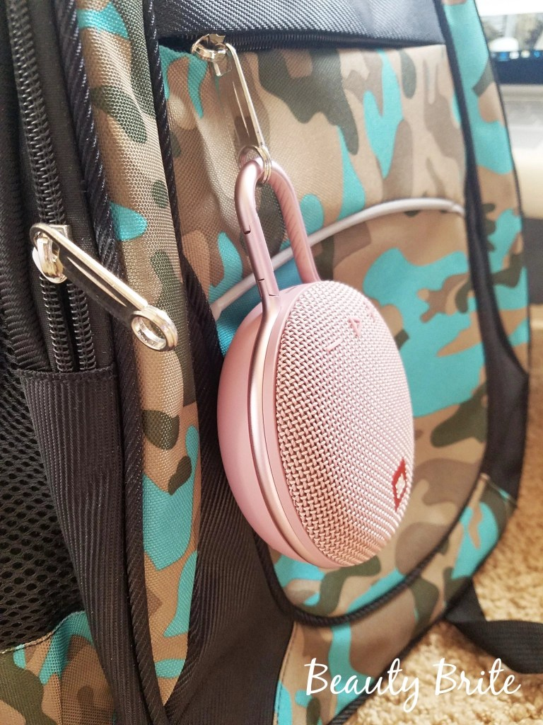 JBL Clip 3 speaker in Dusty Pink