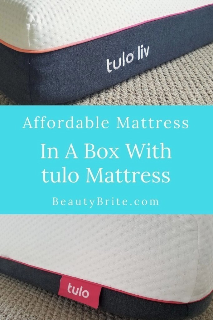 Affordable Mattress In A Box With tulo Mattress
