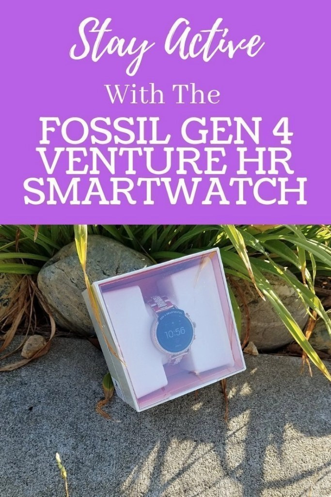 Stay Active With The Fossil Gen 4 Venture HR Smartwatch at Best Buy