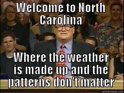 north carolina weather