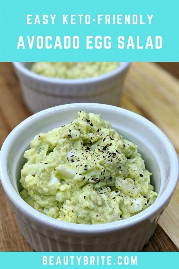 Easy Keto-Friendly Avocado Egg Salad