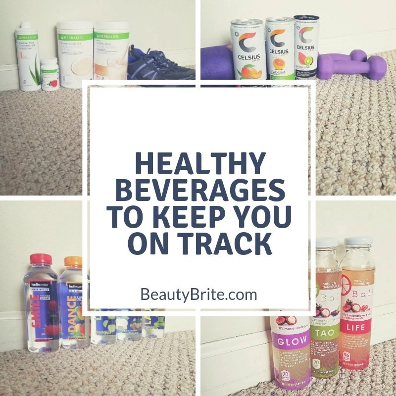 Healthy Beverages To Keep You On Track - social media