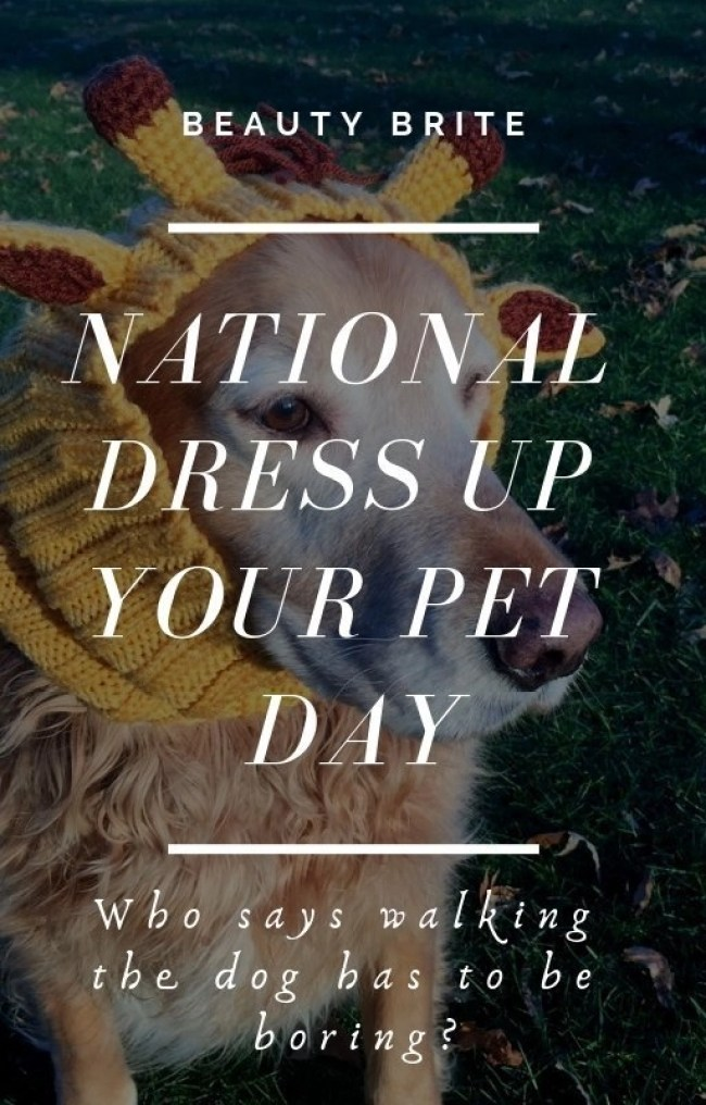 National Dress Up Your Pet Day - Zoo Snoods