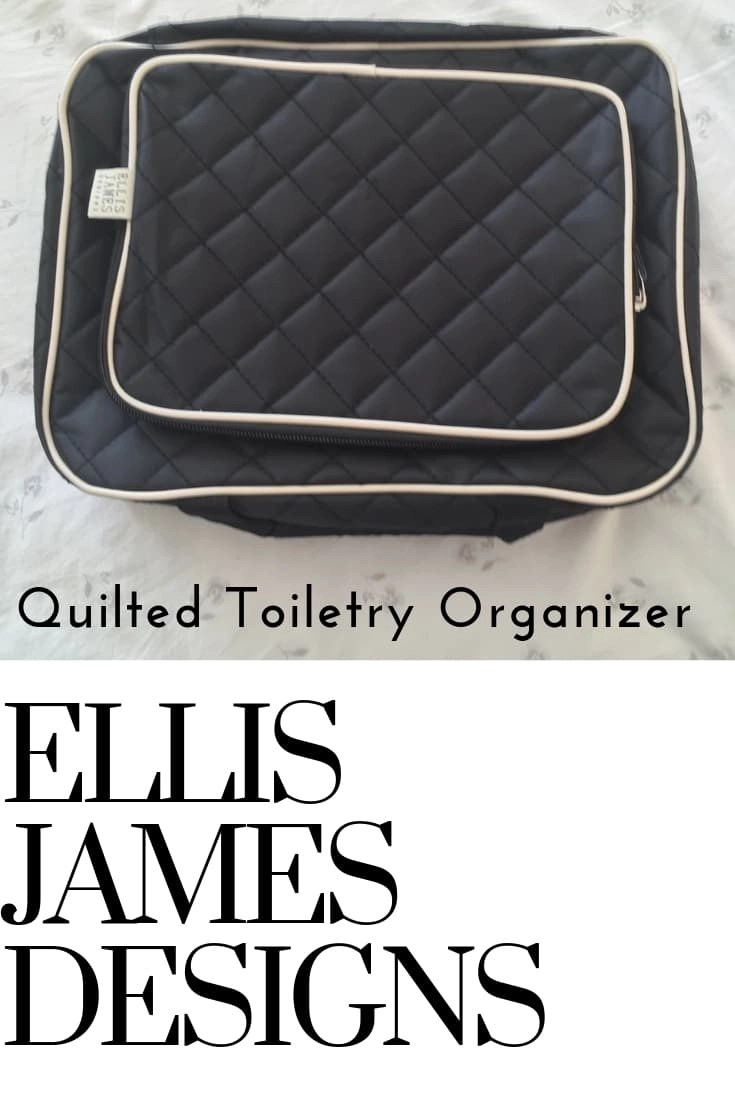 Ellis James Designs Quilted Toiletry Bag