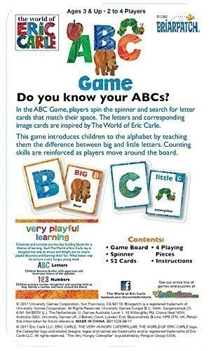 Eric Carle ABC Game Directions