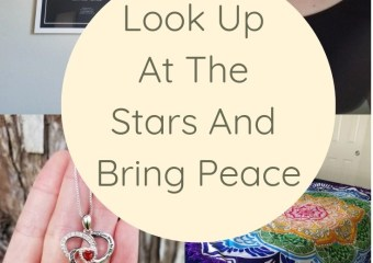 Look Up At The Stars And Bring Peace