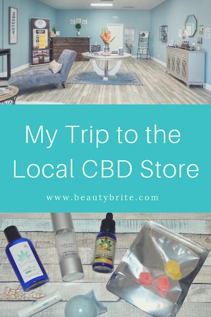 My Trip to a Local CBD Store