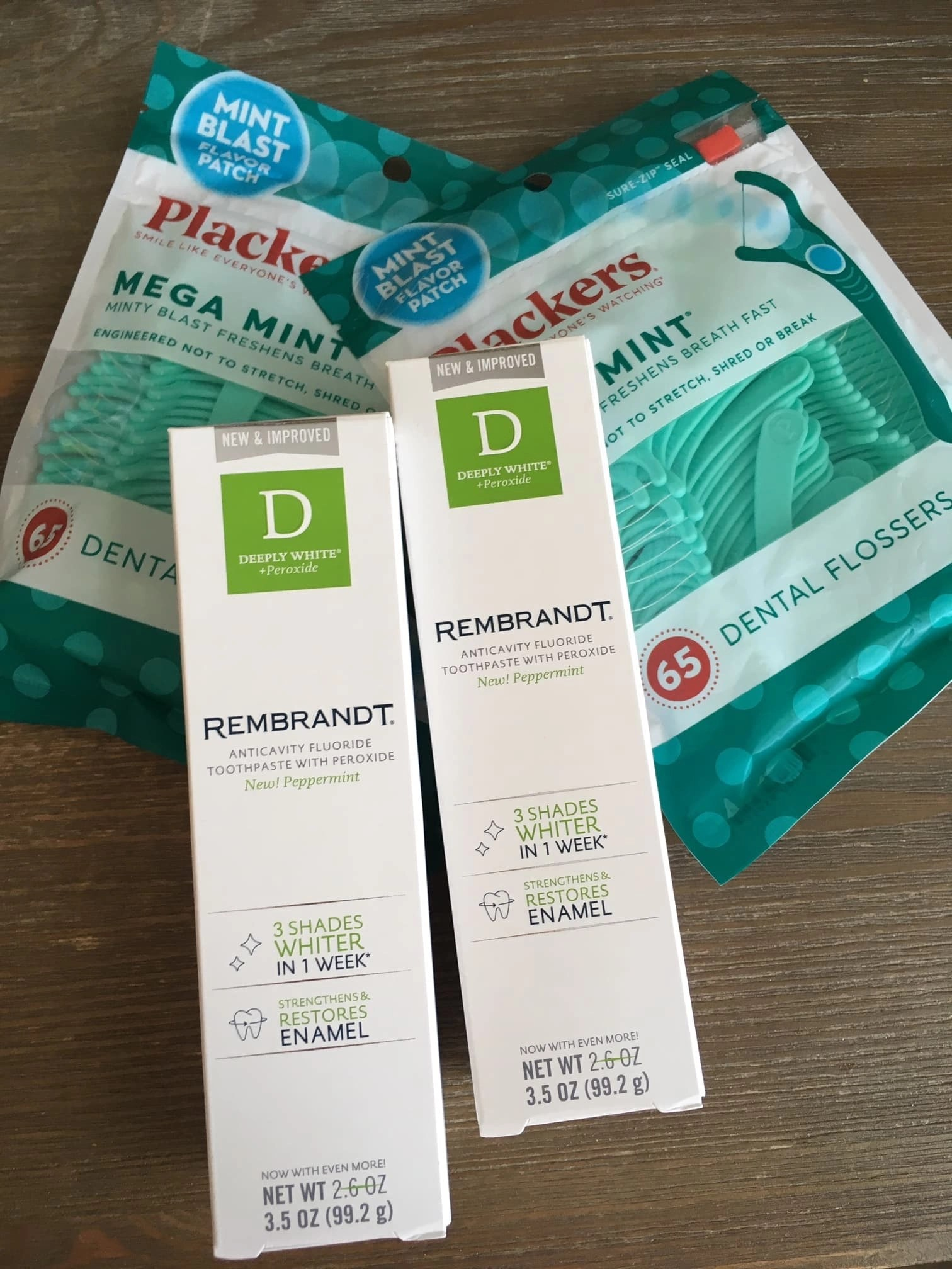 New Dental Products from Rembrandt and Plackers