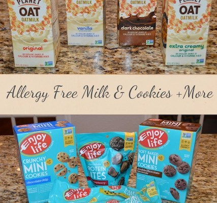 Allergy-Free Milk and Cookies + More