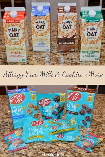 Allergy Free Milk & Cookies + More