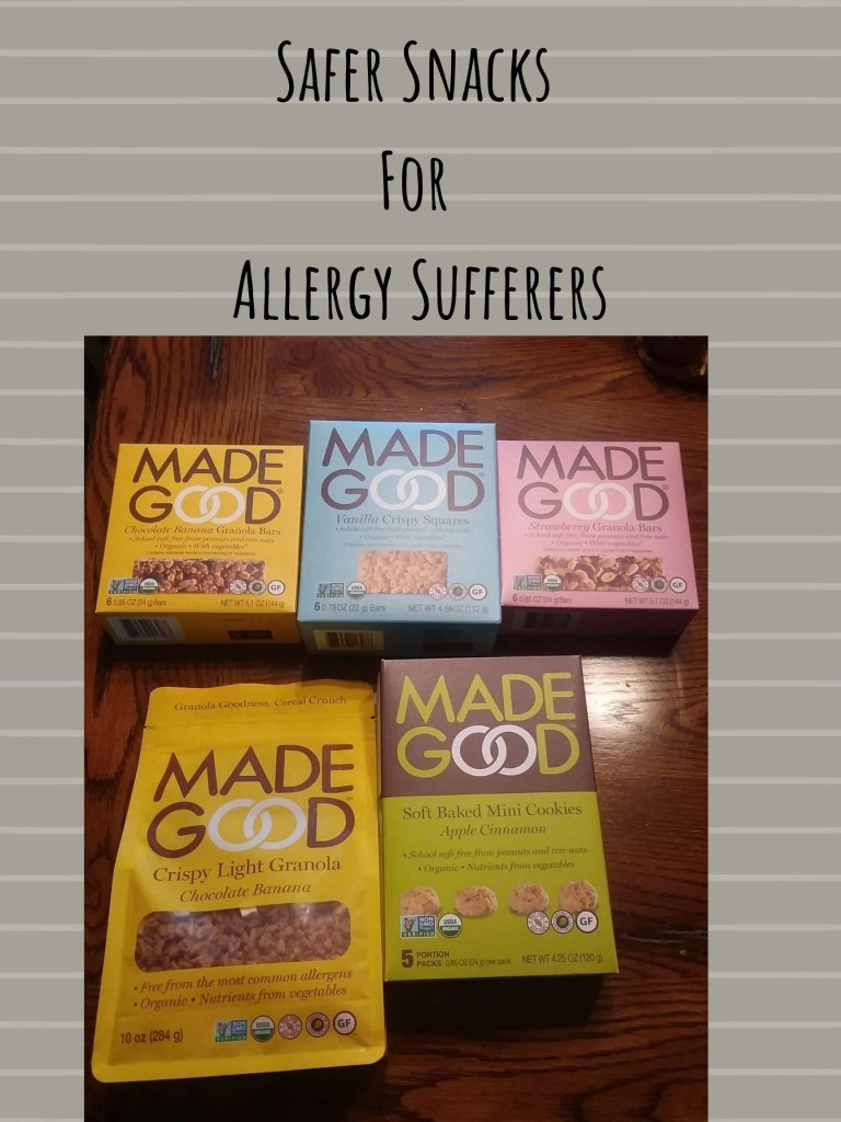 Safer Snacks For Allergy Sufferers