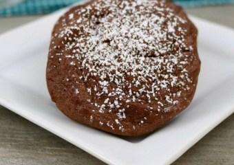 Chewy Sea Salt and Caramel Nutella Cookies