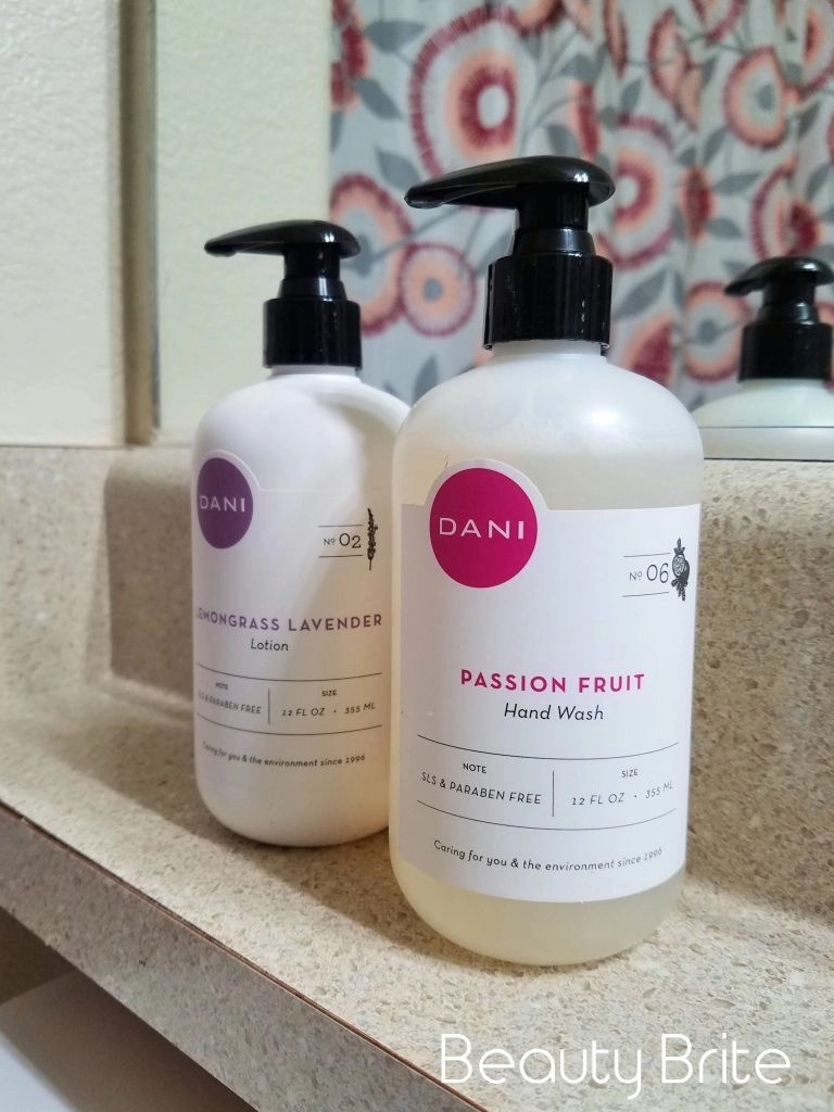 Lemongrass Lavender Hand Body Lotion and Passion Fruit Hand Soap