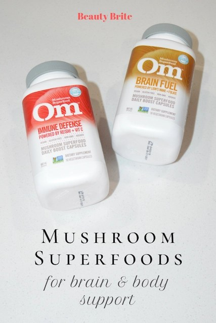Mushroom Superfoods for brain & body support