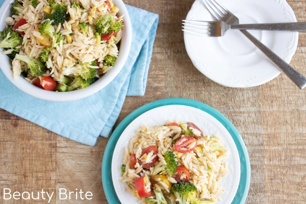 Orzo Summer Salad - social media