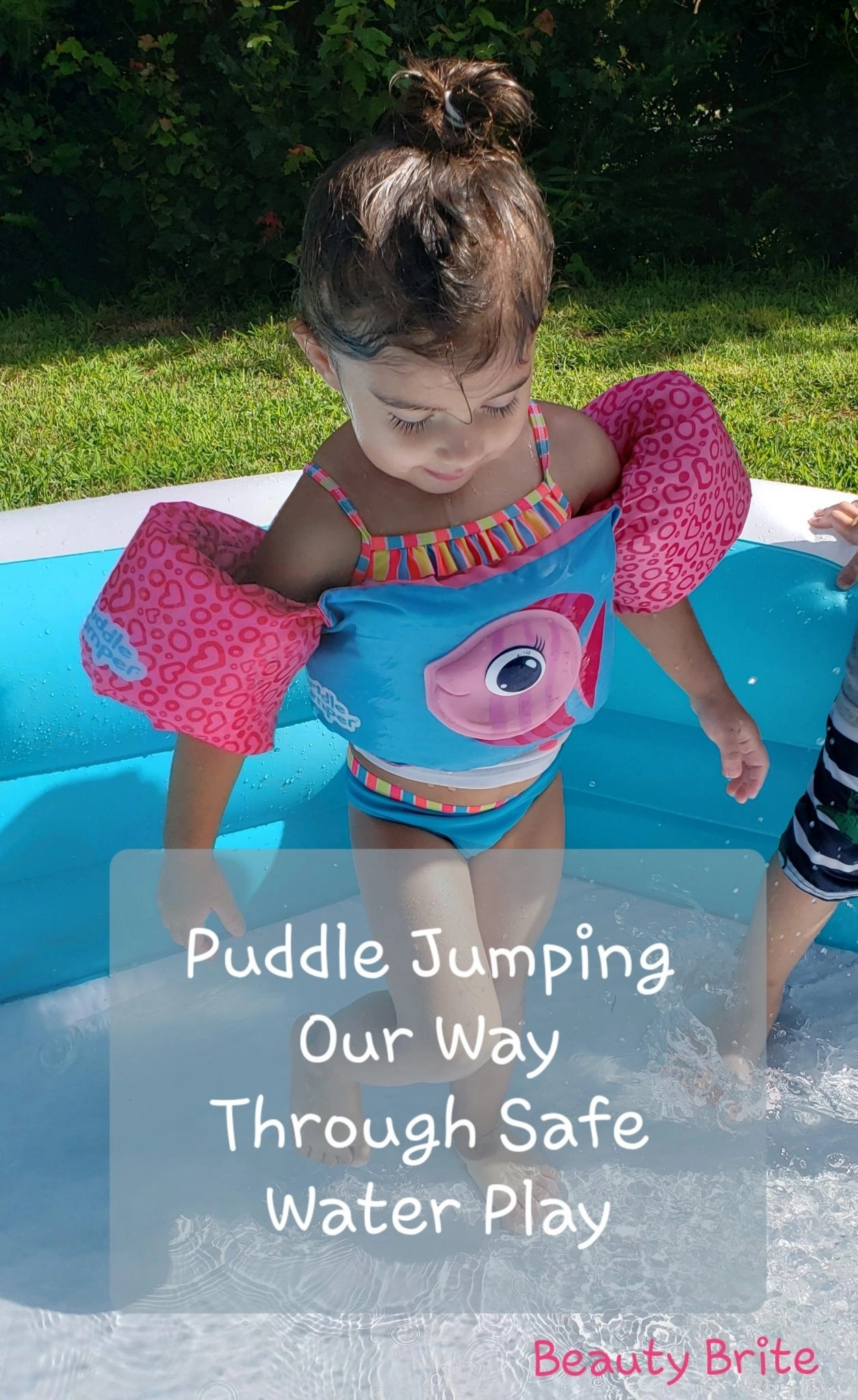 Puddle Jumping Our Way Through Safe Water Play