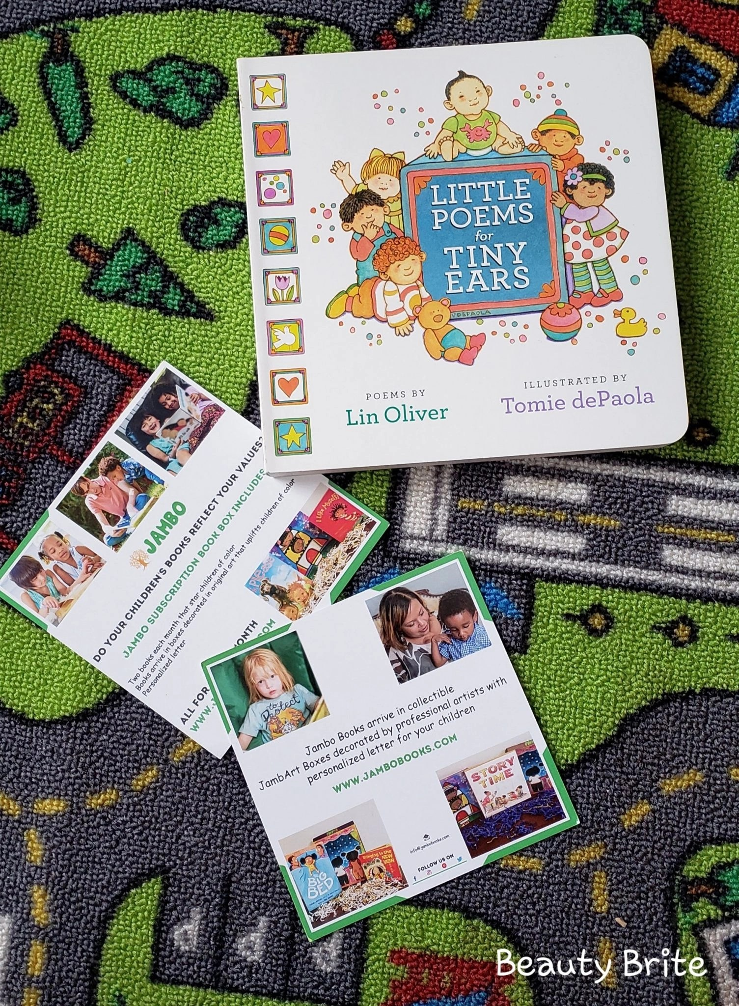 Jambo Book Club Little Poems for Tiny Ears