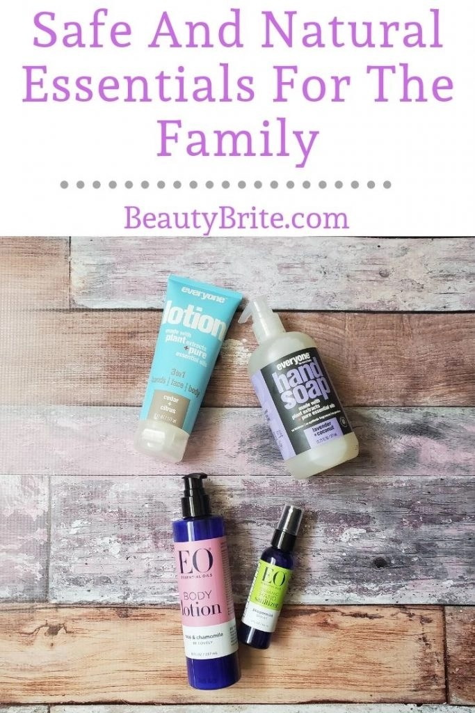 Safe And Natural Essentials For The Family