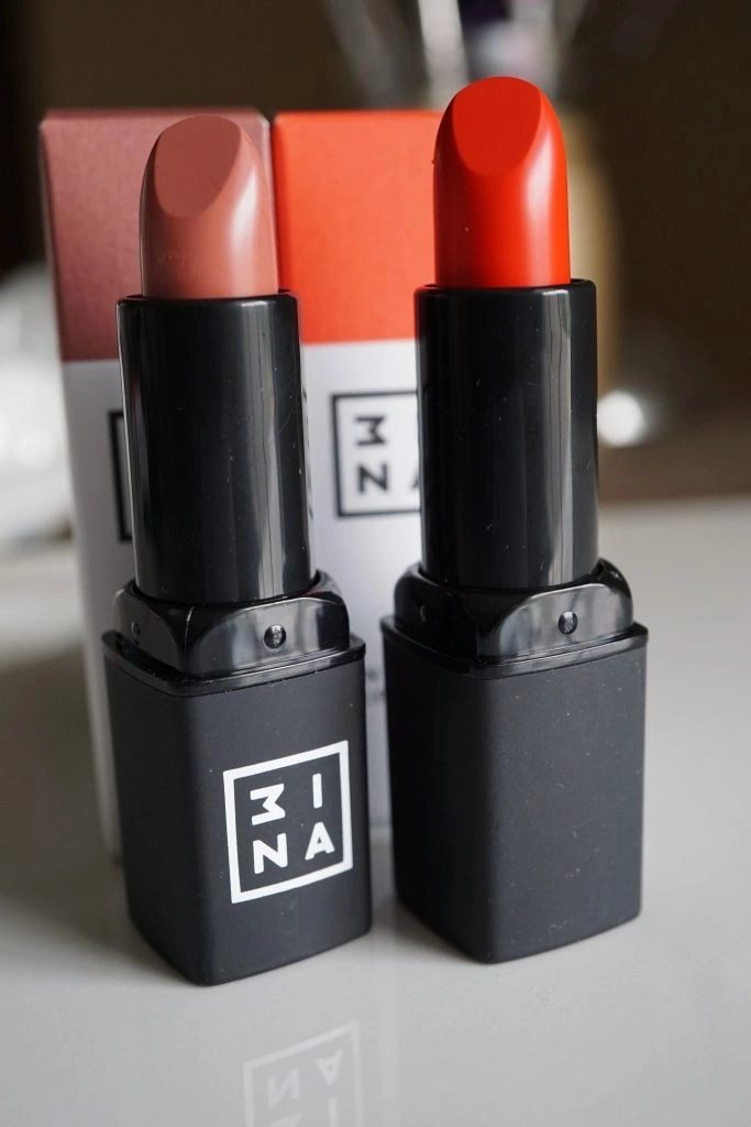 The Essential Lipsticks from 3INA
