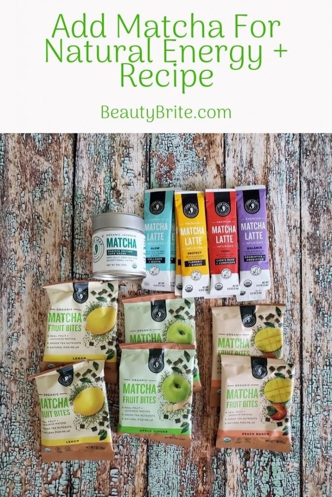 Add Matcha For Natural Energy + Recipe