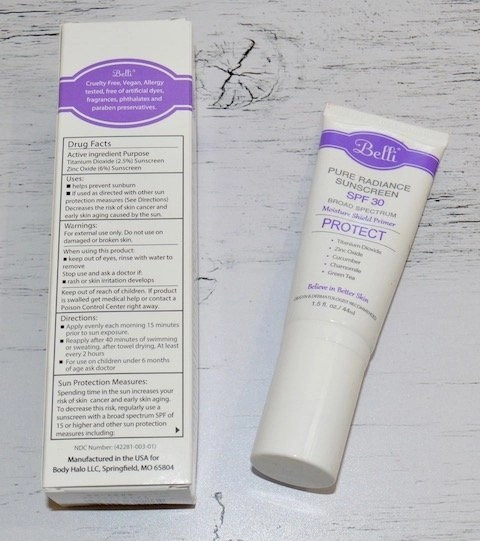 Belli Pure Radiance Sunscreen