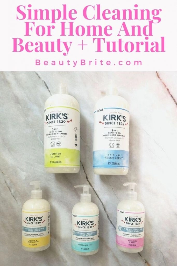Simple Cleaning For Home And Beauty