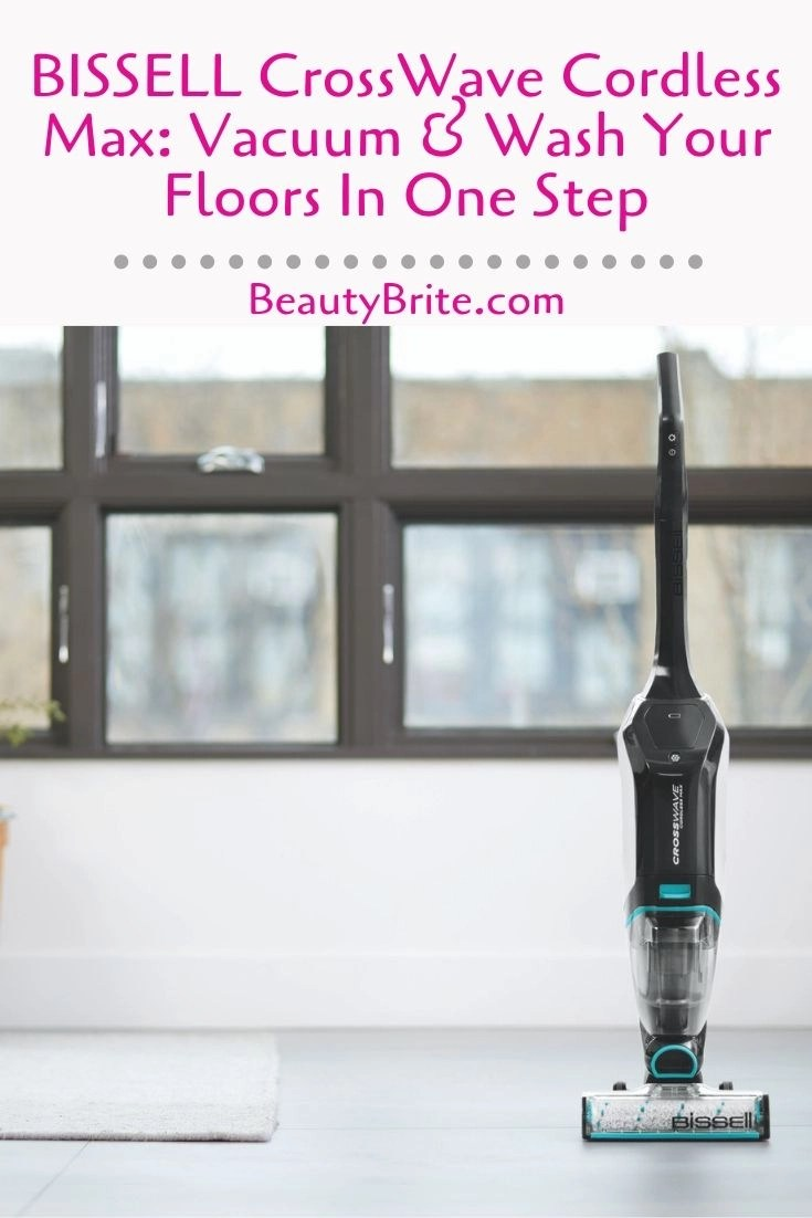 Bissell Crosswave Cordless Max Vacuum Amp Wash Your Floors
