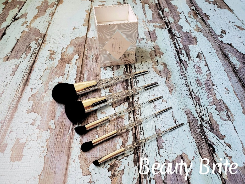 Crystal Clear 5-Piece Cruelty Free Brush Collection