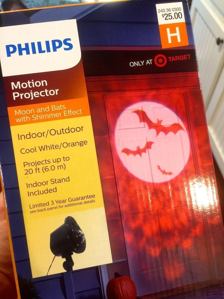 Philips Indoor/Outdoor Halloween Motion Projector