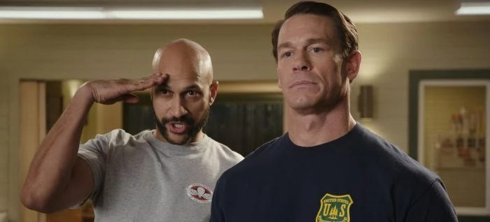 Keegan-Michael Key and John Cena