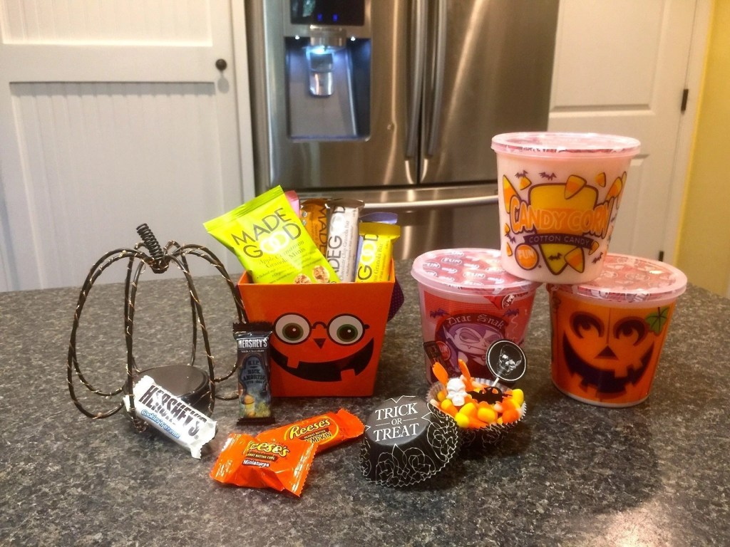 Made Good Healthy Snacks and Halloween candy