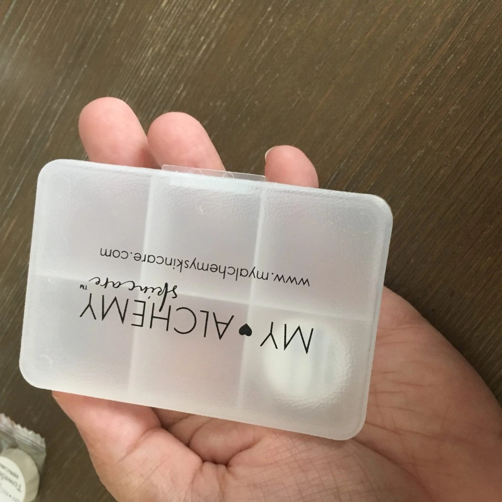 My ALCHEMY Skin Care Travel Mini Towelette Case