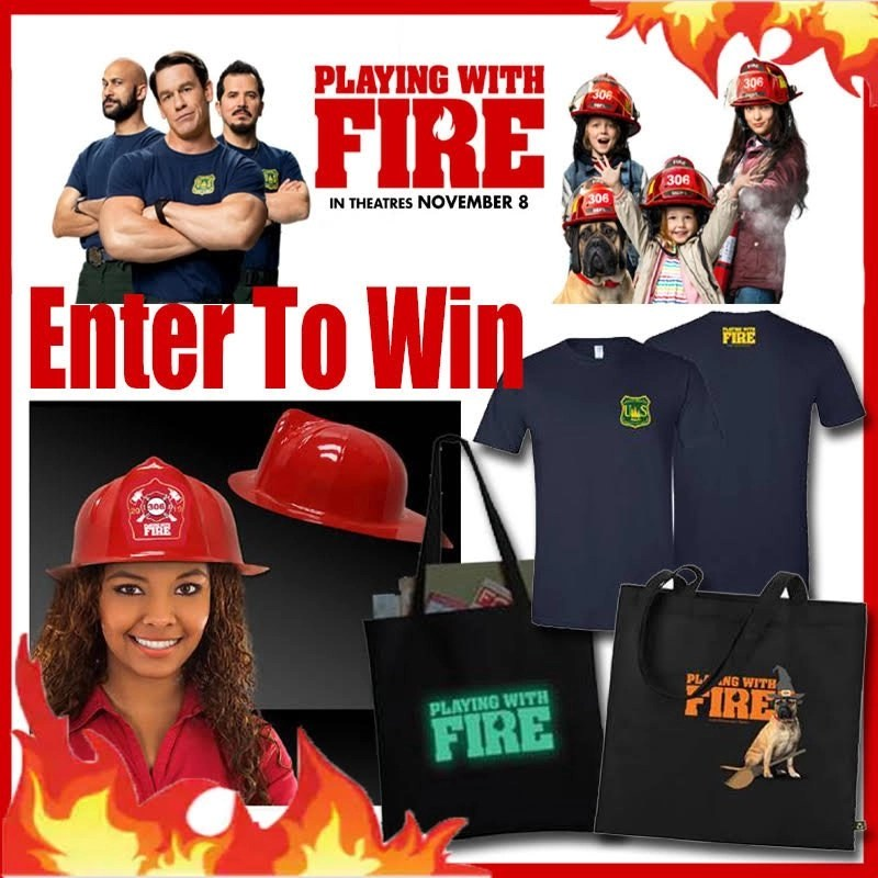 Playing With Fire Movie Swag Giveaway
