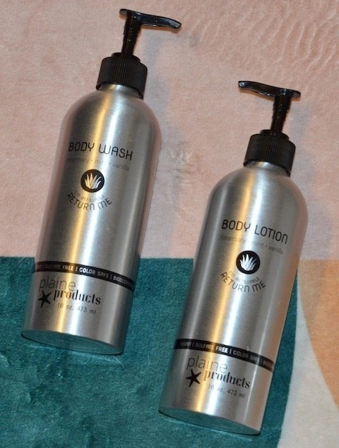 Sustainable Beauty Products _ Body Wash and Lotion