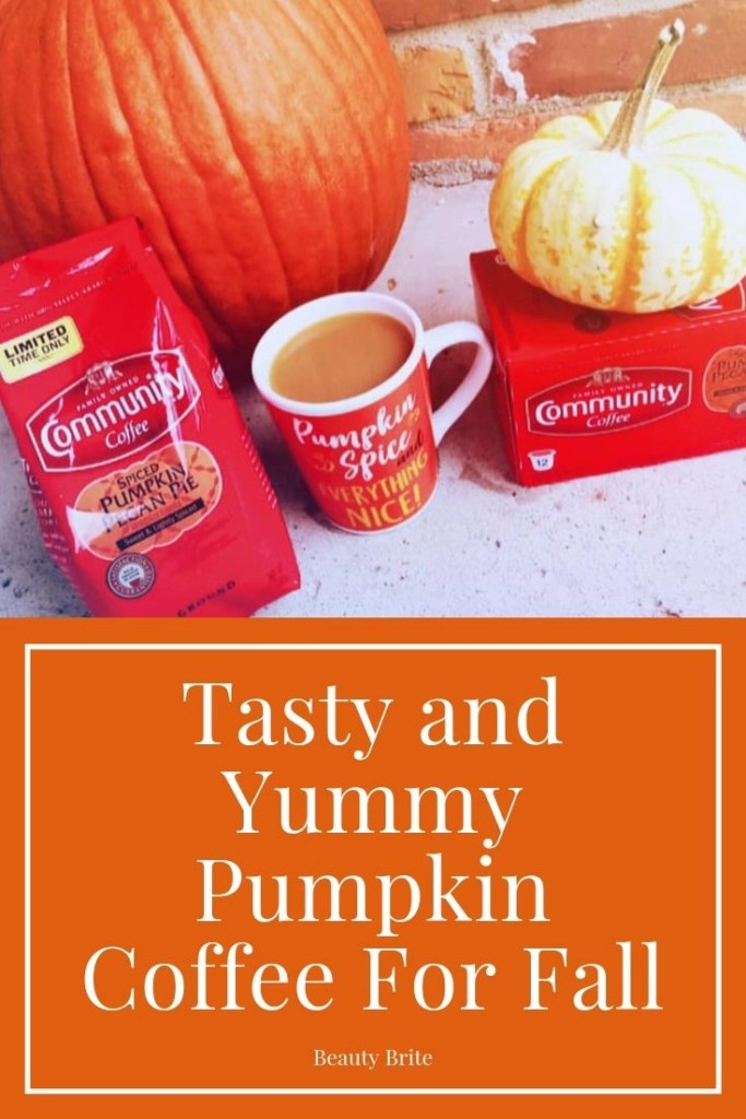 Tasty and Yummy Pumpkin Coffee For Fall-Community Coffee Spiced Pumpkin Pecan Pie