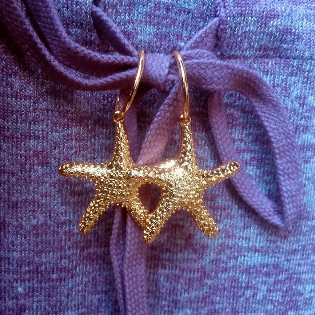 Twice Shy Calista Sea Star Earrings