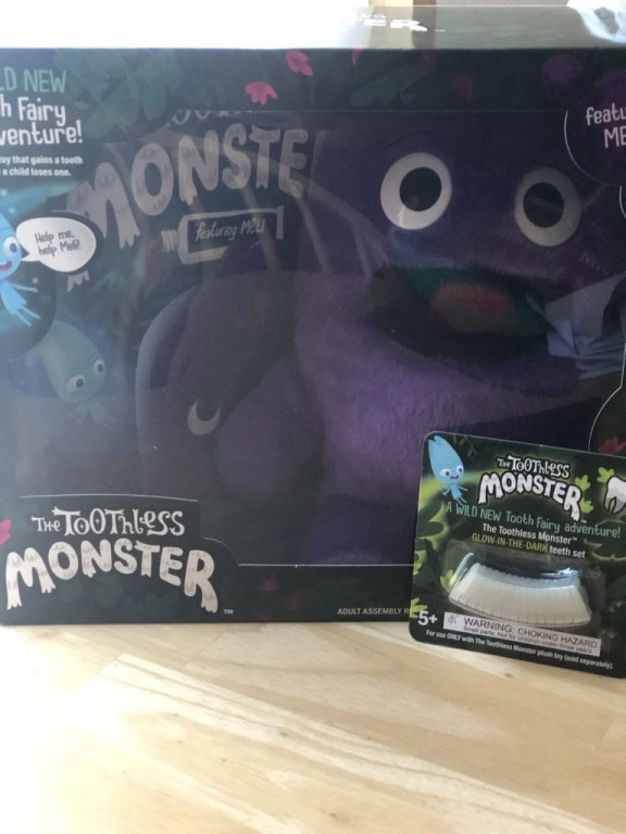 The Toothless Monster book and activity