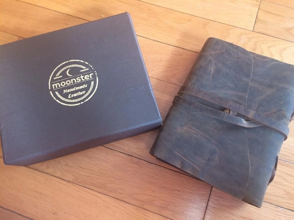 Moonster Genuine Leather Journal