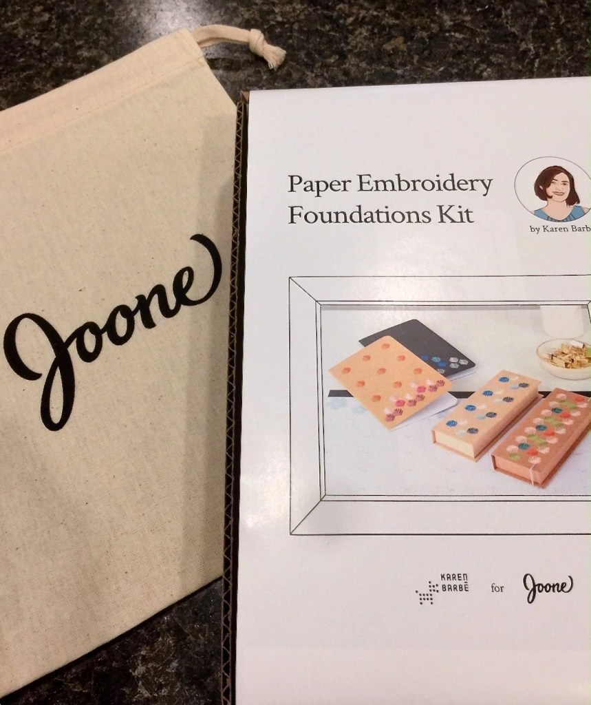 The Most Fun I've Had While Crafting - Joone Crafts Paper Embroidery Foundations Kit