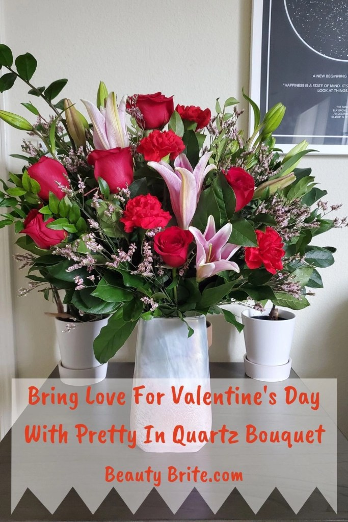 Bring Love For Valentine's Day With Pretty In Quartz Bouquet