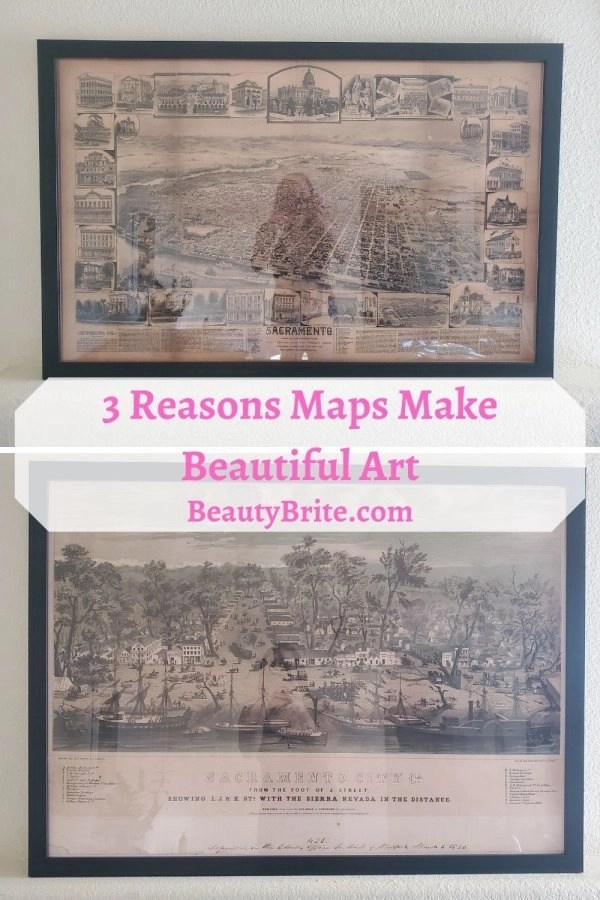3 Reasons Maps Make Beautiful Art